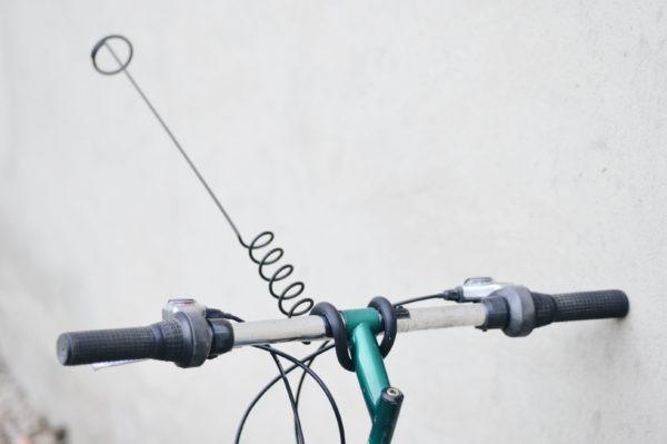 antena desmontable para bikejoring icedog