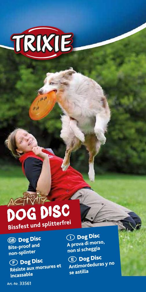 Disc Dog Activity, Plástico extra Resistente, Trixie 1