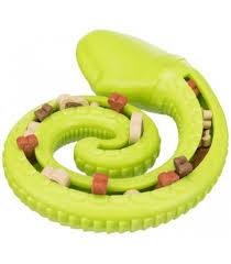 serpiente para snacks de perros