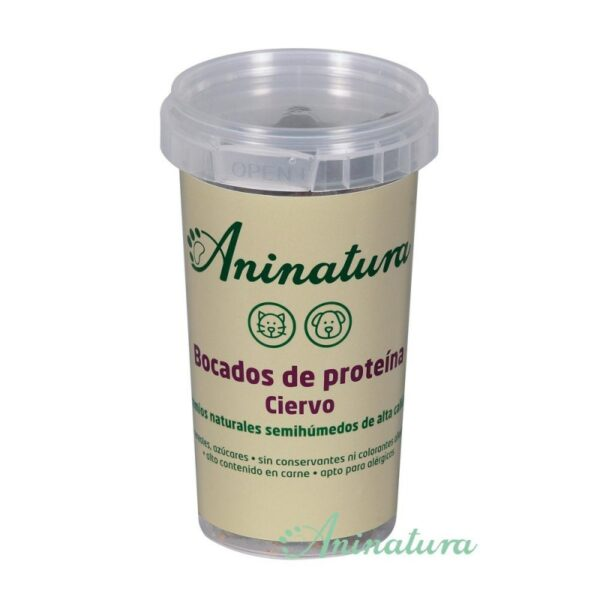 Soft Snack natural de Ciervo 150 grs,  Aninatura 2