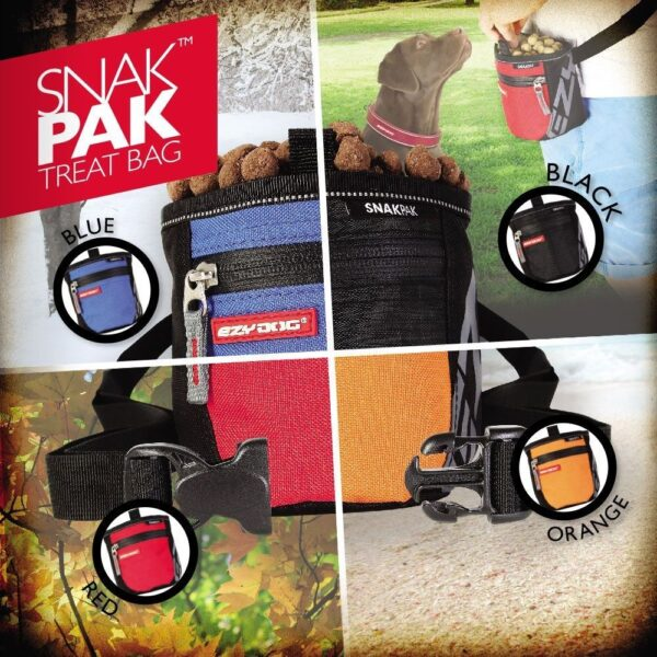 Bolsa de Premios SnakPak Treat Bag, EzyDog 7